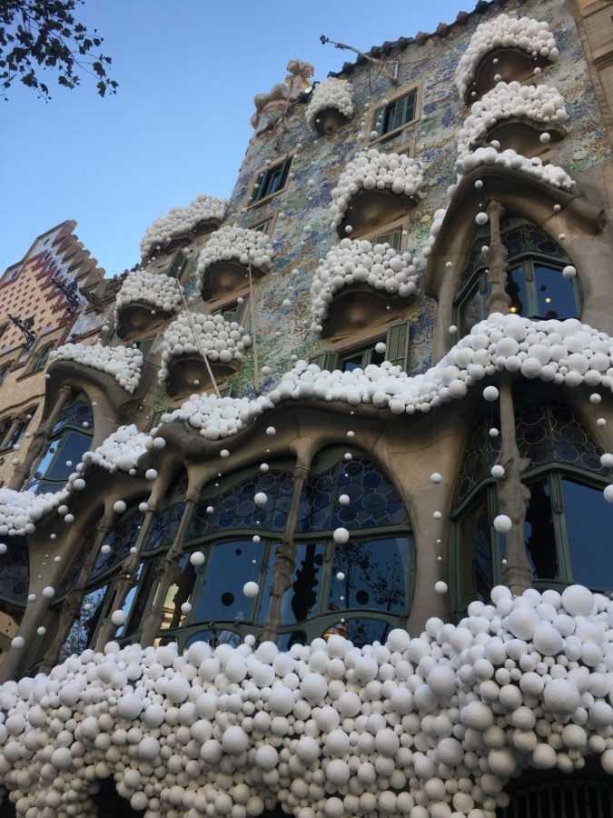 Рождественская Барселона