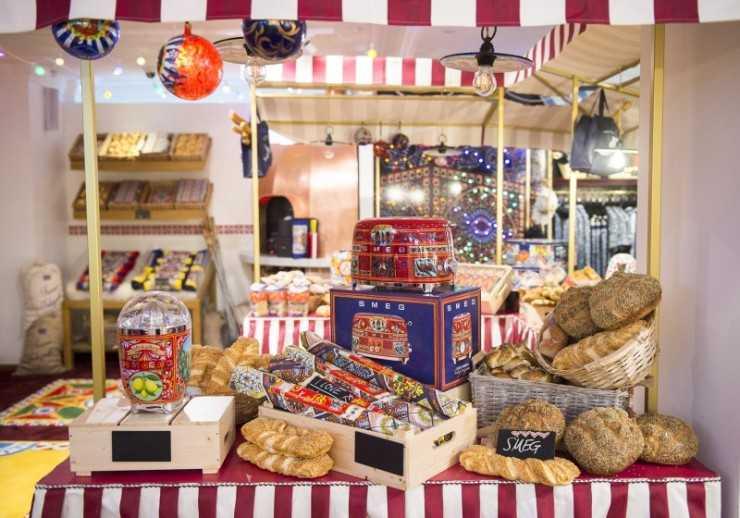 Italian Christmas Market в Harrods