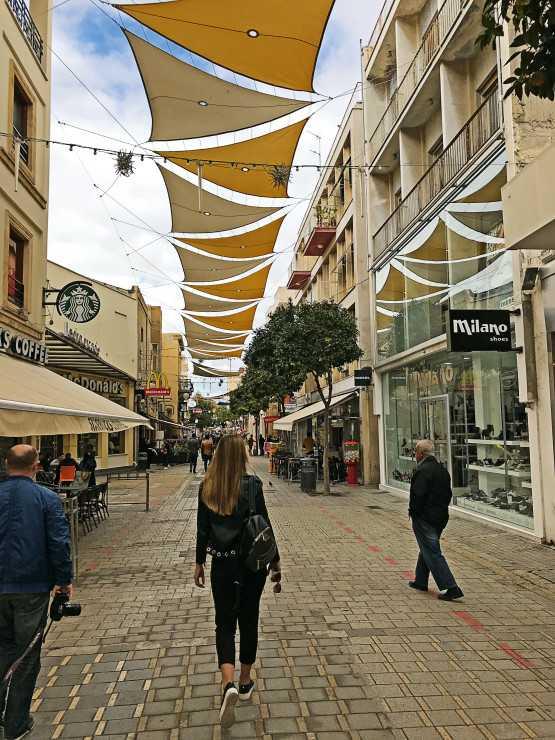 Центральная улица Никоссии