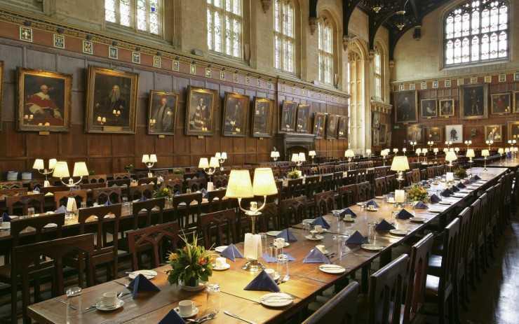 Оксфордская библиотека служила Хогвартсом