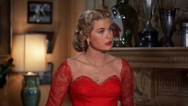 Грейс Келли, кадр из фильма «В случае убийства набирайте «М»