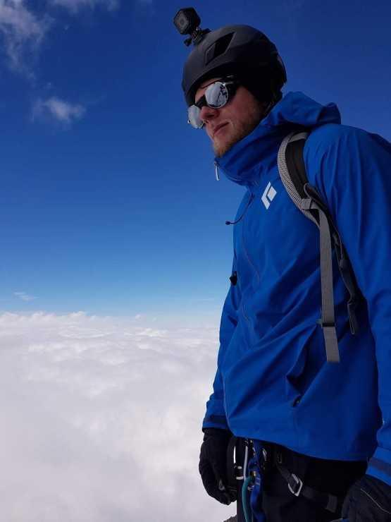 Монблан, высота 4810 м
