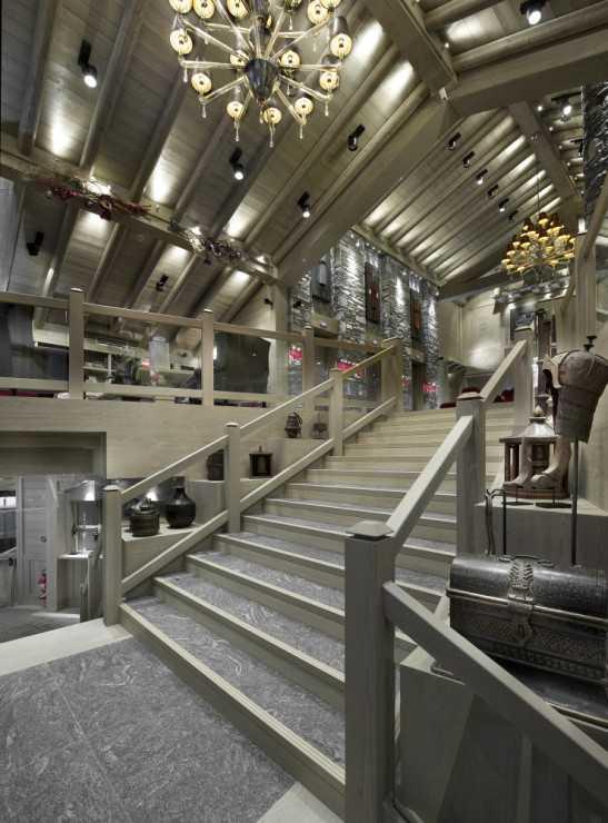 Лобби отеля Le K2 Palace