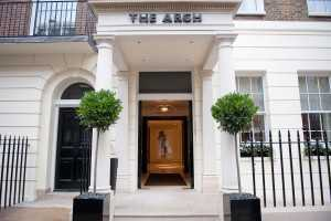 The Arch Entrance