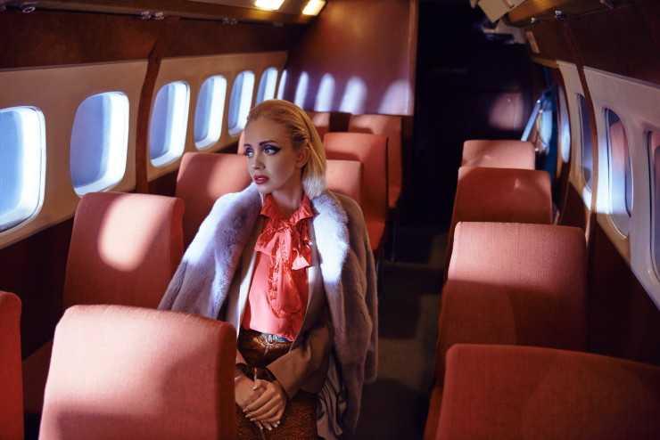 Пальто Florence Mode Блуза и юбка Gucci Пиджак Ralph Lauren