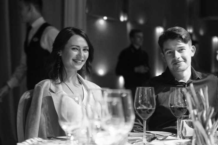 Скульптор Евгений Примаченко с женой