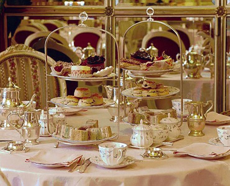 Чаепитие в The Ritz