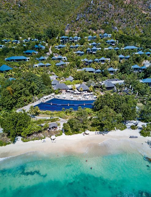 Лучший отель на  острове – Raffles Seychelles