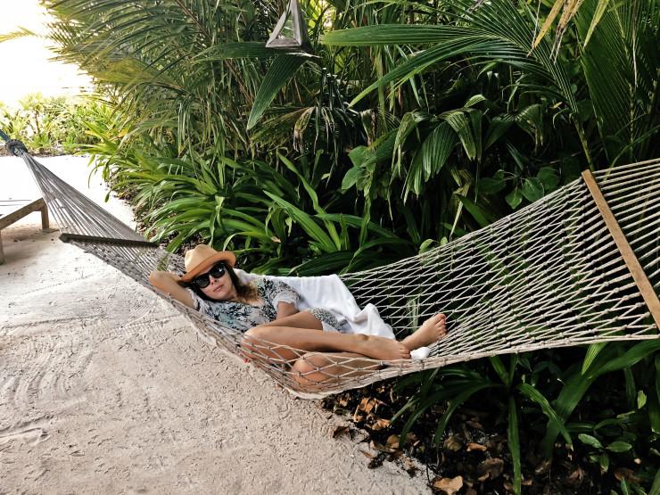 Шеф-редактор CHANCE Виктория Белая в отеле Soneva Fushi (Мальдивы)