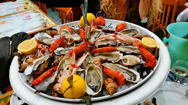 Ресторан Сoquillages Brun Cannes
