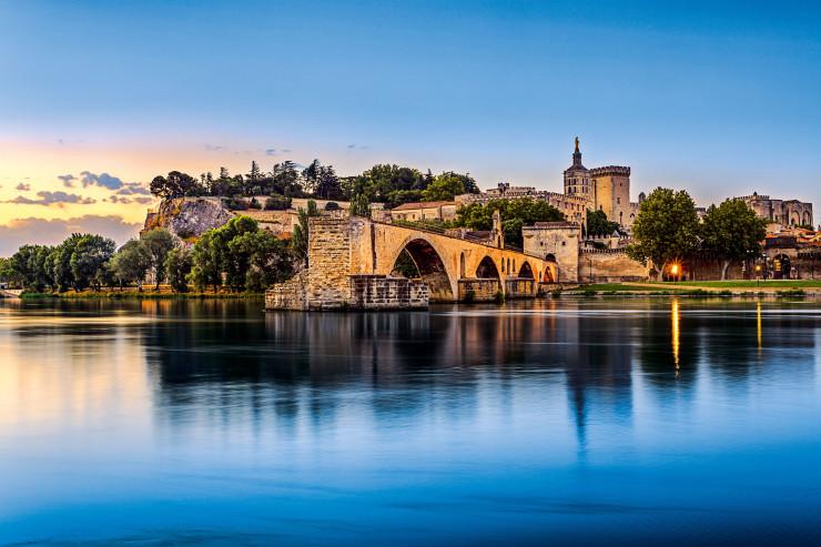 Авиньонский мост и Папский дворец