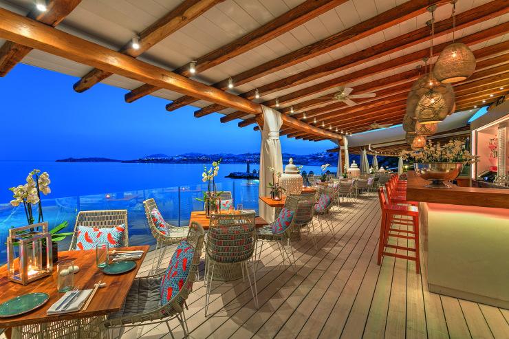 Buddha Bar Beach at Santa Marina Mykonos Evening (9)