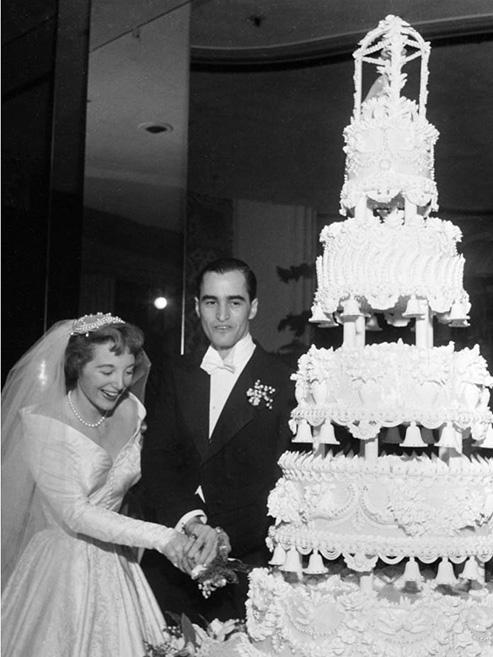 Joan Benny And Seth Baker Wedding