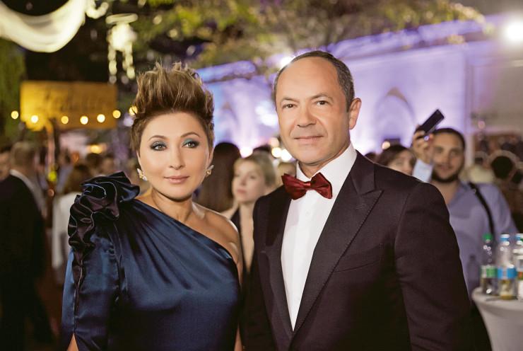 Виктория и Сергей Тигипко на Одесском кинофестивале