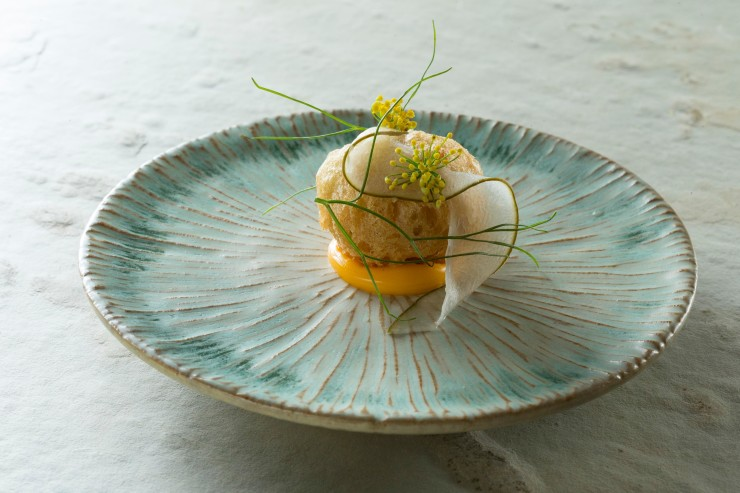 Chef Ryohei Hieda Food