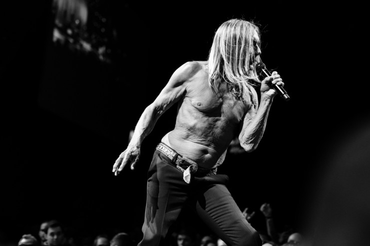 Iggy Pop at Montreux Jazz Festival