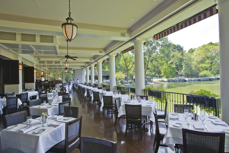 The Loeb Central Park Boathouse