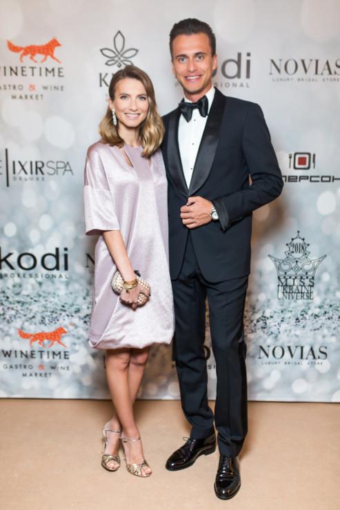Елизавета Юрушева и Александр Скичко. Фото: пресс-служба Miss Ukraine Universe