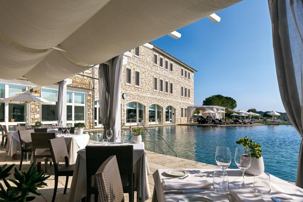 Aqualuce terrace