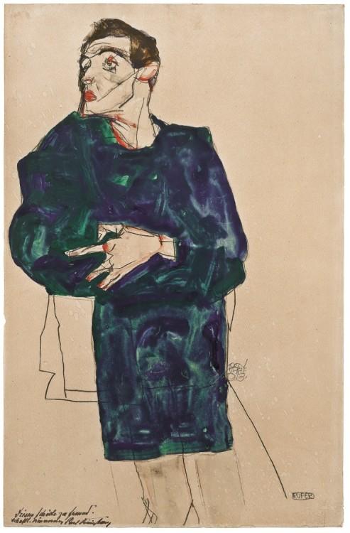 Egon Schiele, Celui qui appelle