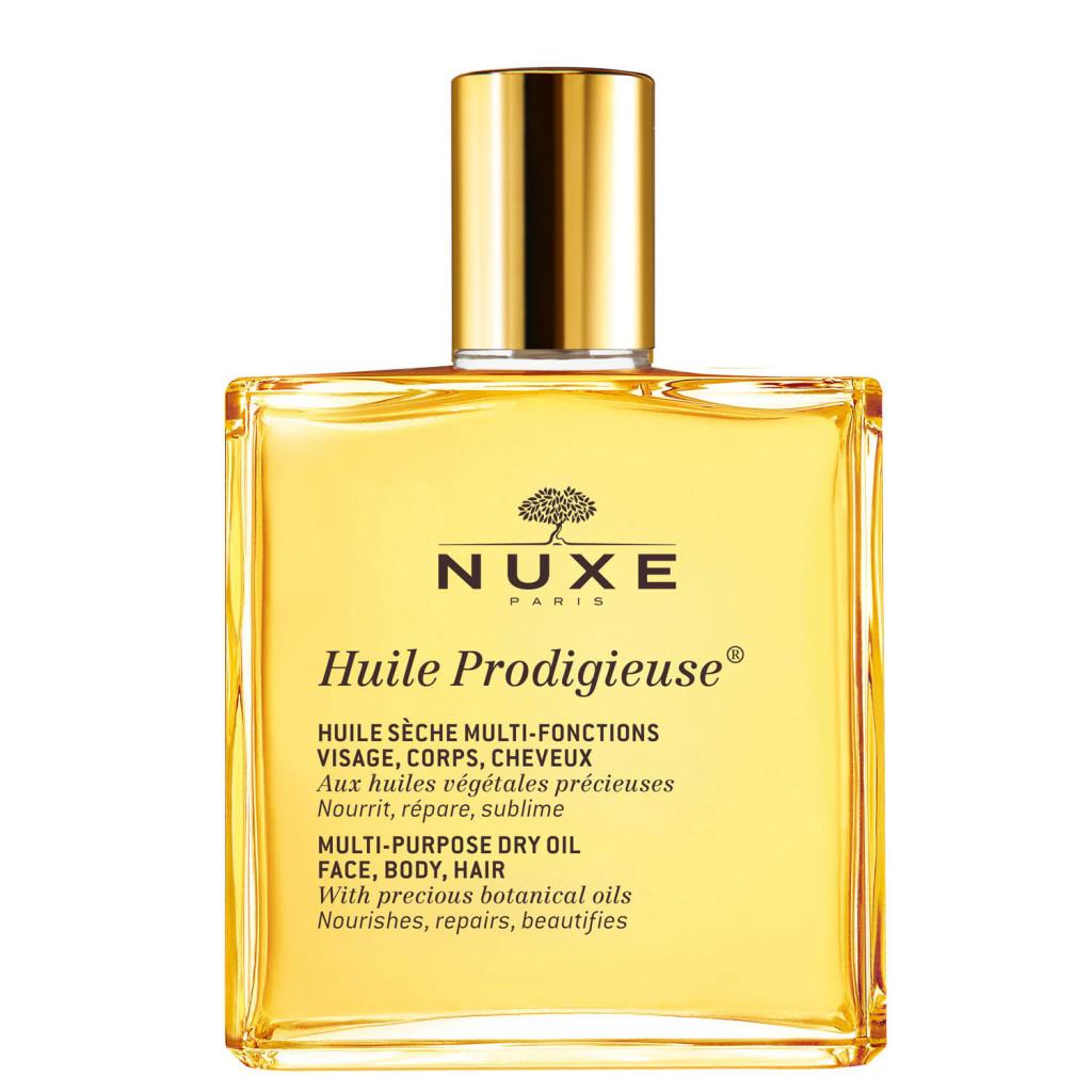 nuxe масло для тела