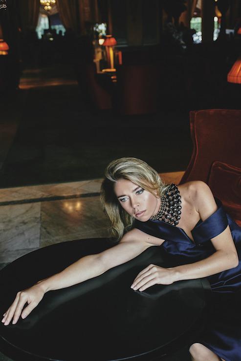 Платье Lenalumeloky Украшение Rosantica made in Milan Локация: Hotel Barriere Le Royal Deauville Макияж и Прическа: Alexandra Mathieu