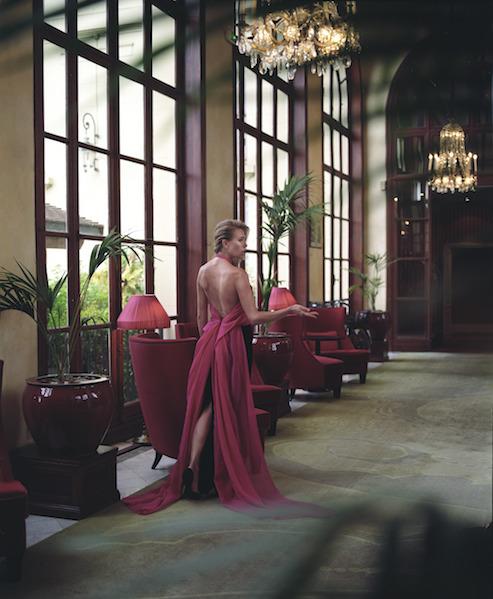 Платье Djaba Diassamidze Туфли Saint Laurent Локация: Hotel Barriere Le Royal Deauville Макияж и Прическа: Alexandra Mathieu