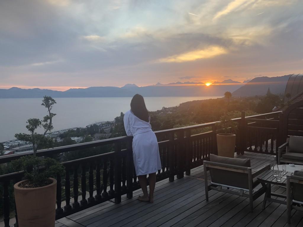 Junior Suite с приватной террасой 20 м2 Hotel Royal Evian Resort