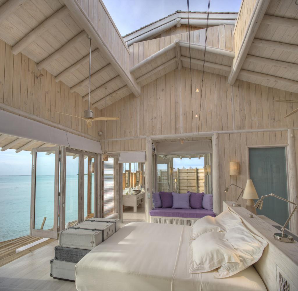 Water Retreat bedroom interior by Stevie Mann
