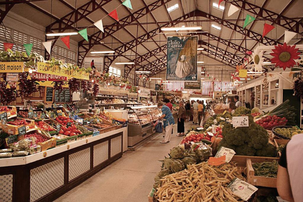 рынок Les Halles