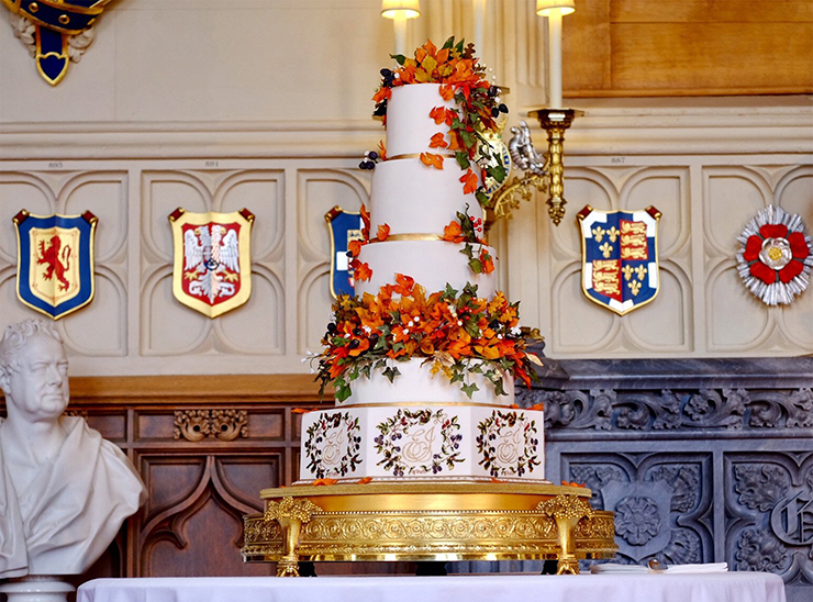 Свадебный торт принцессы