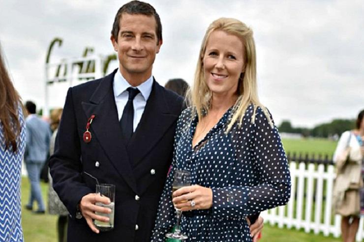 Беар Гриллс с женой. Фото: 24smi.org