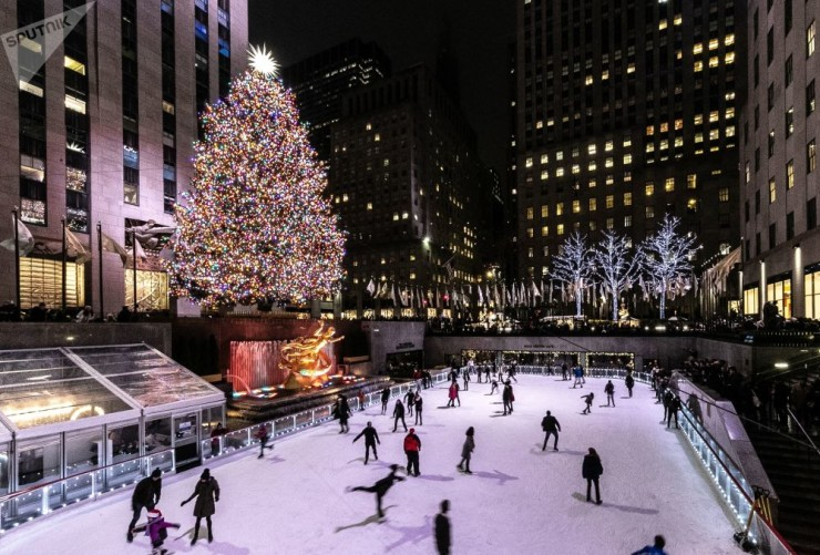 Нью-Йорк,  Источник: Sputnik / Gina Moon