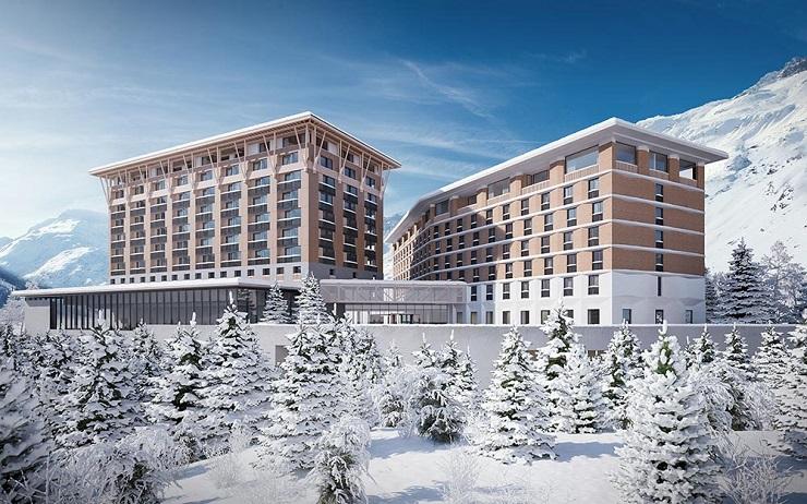 Захватывающие горные пейзажи окружают Radisson Blu Andermatt Hotel Reussen. Фото: andermatt-swissalps.ch