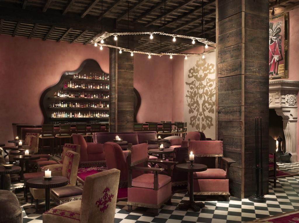 Rose bar в отеле Gramercy Park Hotel