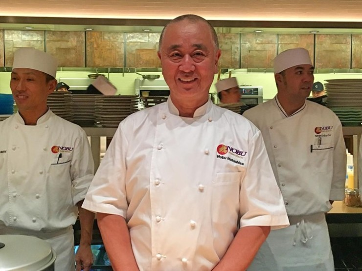 Команда поваров знаменитого ресторана Nobu тоже может быть подарком