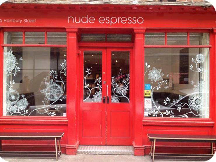 NUDE ESPRESSO, Лондон Фото: FoodCrafters