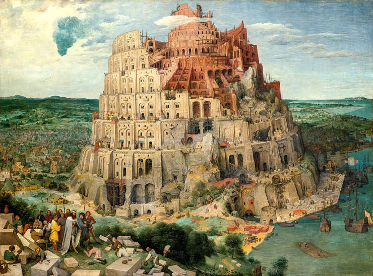 «Большая Вавилонская башня» Питера Брейгеля Старшего. Фото:  KHM-Museumsverband