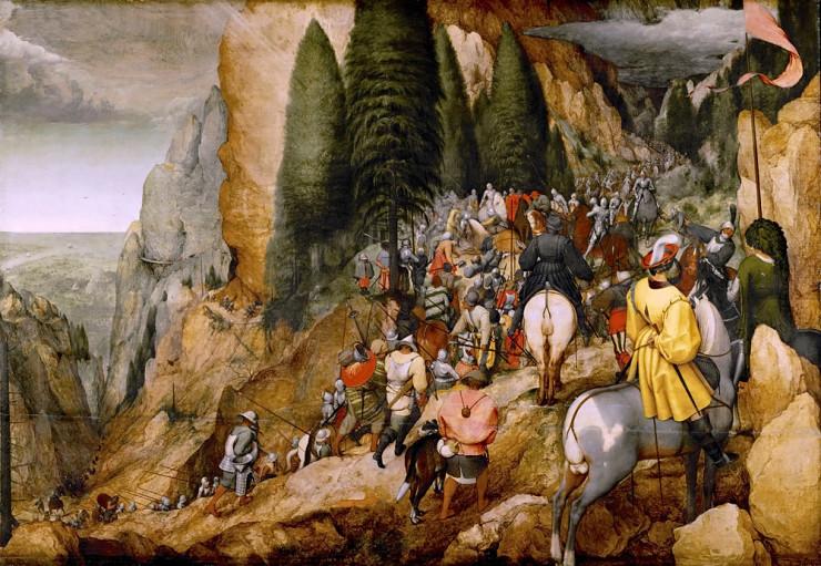 «Обращение Савла», Питер Брейгель. Фото: KHM-Museumsverband