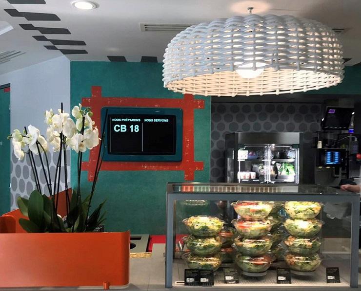 Дизайнерский McDonalds в Париже