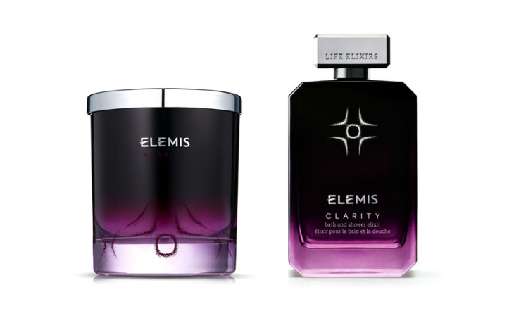 Elemis, Candle Life Elixir Clarity + Bath Elixirs Clarity