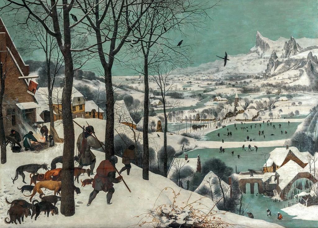 «Охотники на снегу», Питер Брейгель Старший. Фото: KHM-Museumsverband