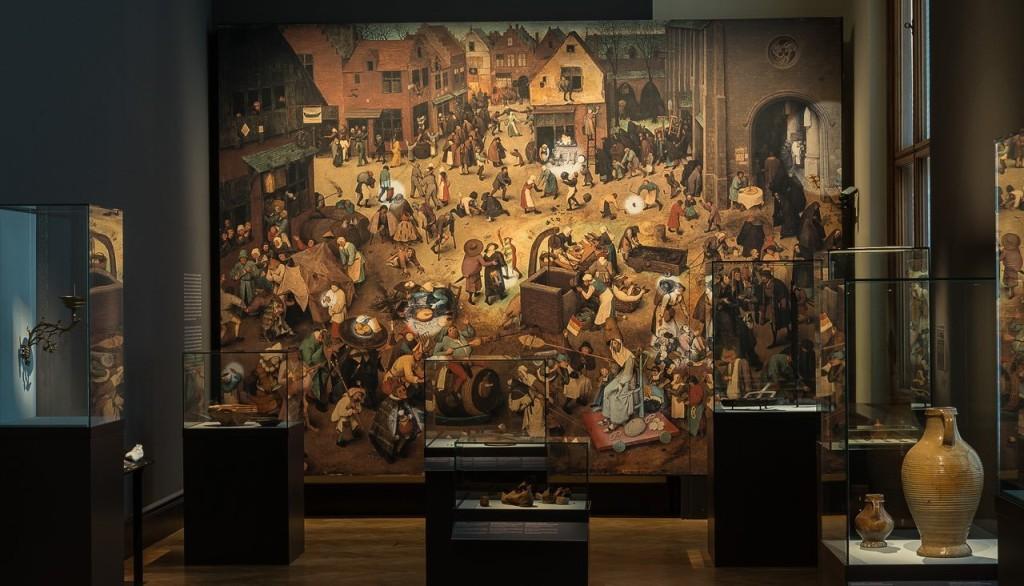 «Битва Масленицы и Поста», Питер Брейгель Старший, Венский музей истории искусств. Фото: KHM-Museumsverband