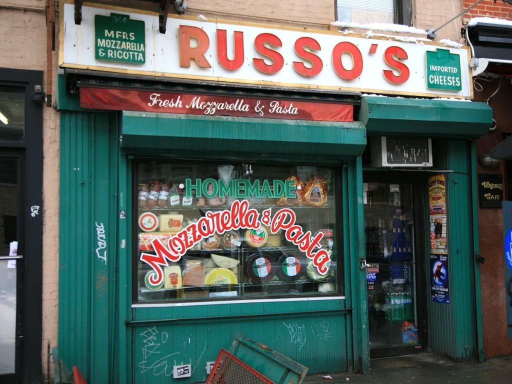 Russo's Mozzarella & Pasta 344 East 11th Street