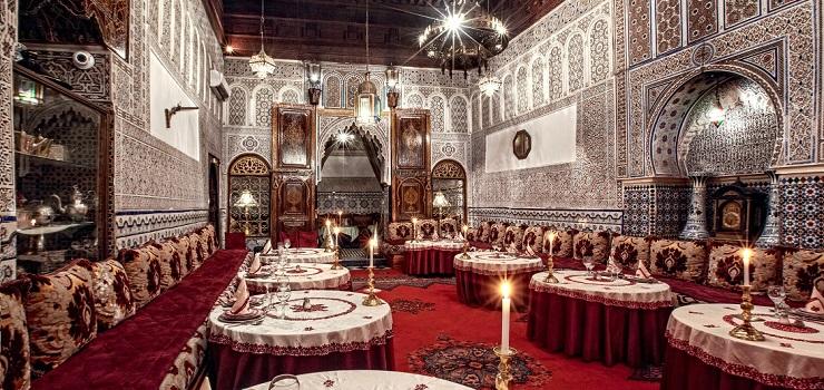 Ресторан Dar Essalam. Фото: daressalam.com