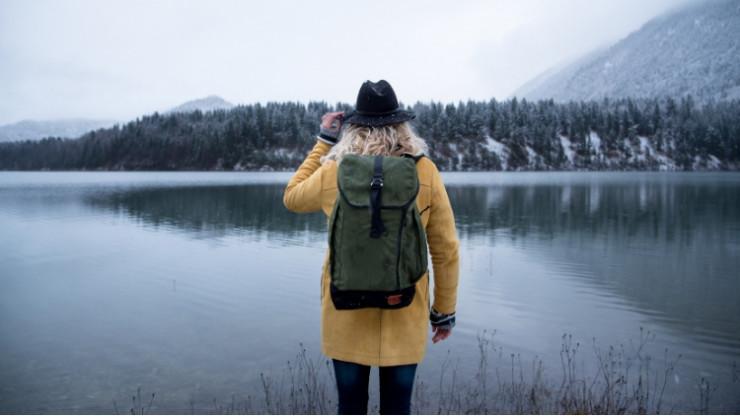 Путешествия в одиночку - один из трендов 2019 года. Фото: pinterest
