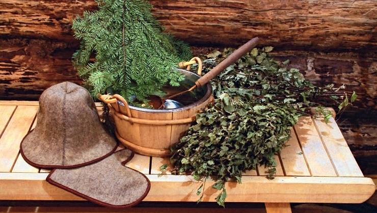Очень «теплая» встреча Нового года в Эстонии. Фото: banyaprk.ru