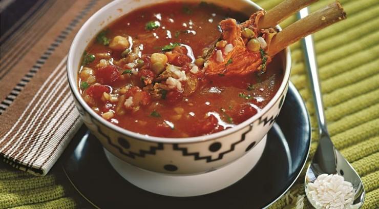 Харира (марокканский рисовый суп) Фото: gastronom.ru
