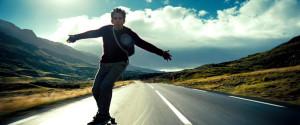 Настроение: прокатиться на скейте в Исландии как Уолтер Митти
