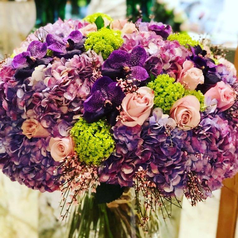 Цветочный магазин Lachaume в Париже. Фото: facebook/lachaume.fleurs